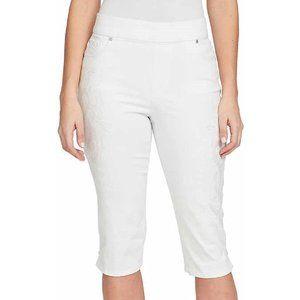 NEW Gloria Vanderbilt Avery Skimmer Capri Pants